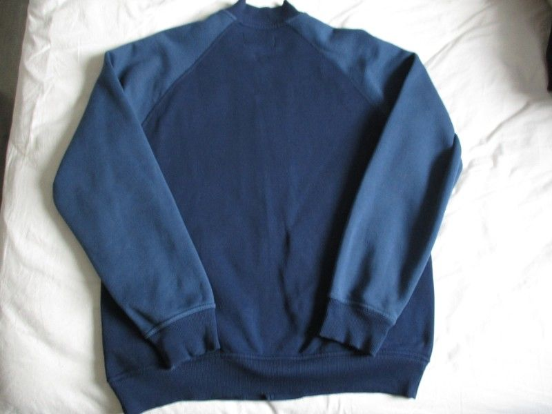 veste adidas bleu marine teddy originals XL baseball
