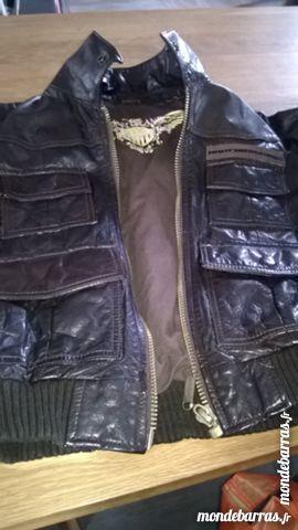 veste adidas et veste en cuir