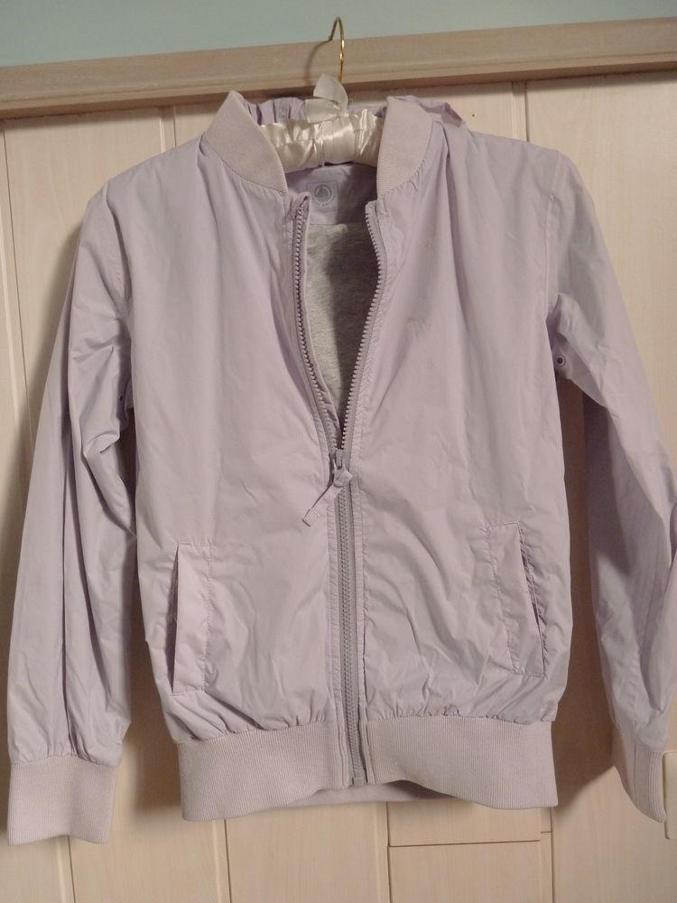 veste blouson imperméable violet fille 10 ans  Petit Bateau 10 Brienne-le-Château (10)