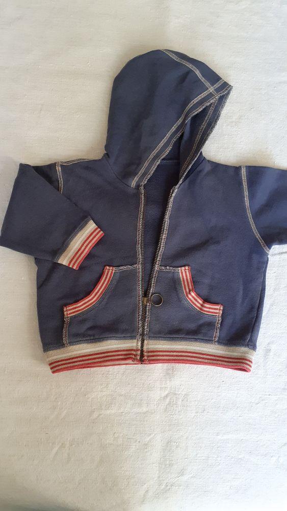 Veste à capuche garçon 12 mois 4 Grisolles (82)