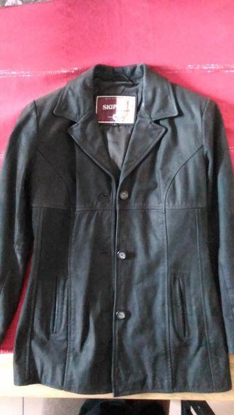 Veste ceintrée Skipper Leather Compagny en cuir femme 50 La Roche-sur-Yon (85)