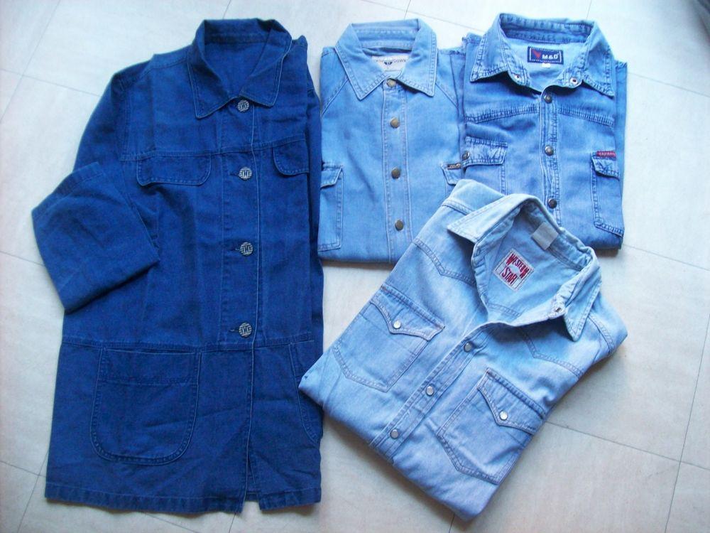 veste et chemises en jean - 42 au 52 - zoe 4 Martigues (13)