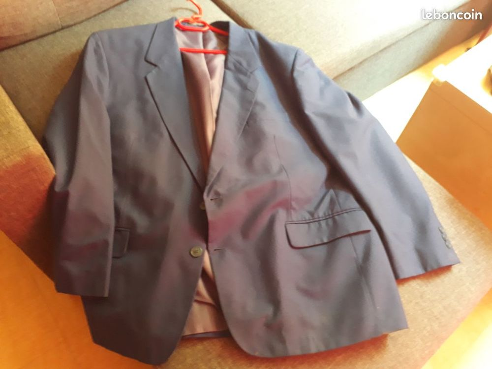 Veste de costume bleue 10 Aubagne (13)