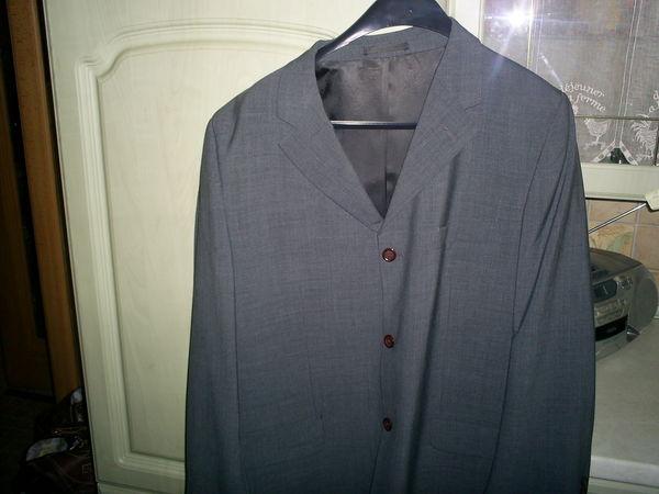 Veste de costume homme grise 15 Longeville-lès-Saint-Avold (57)