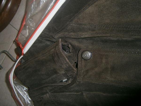 veste croute de cuir taille 38 Très bon état 15 Annonay (07)