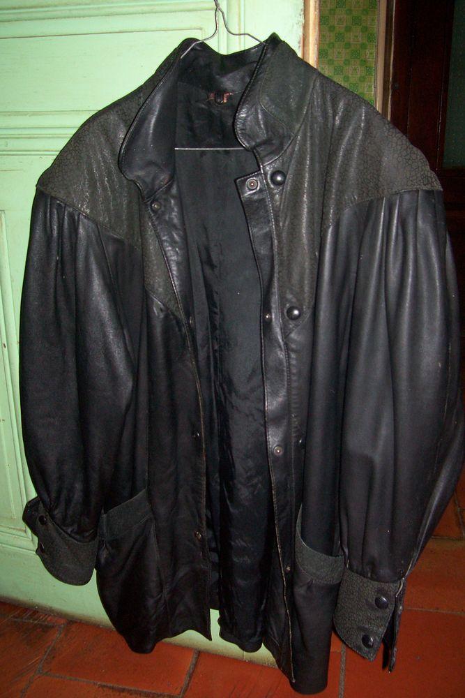 Veste en cuir chez micha  150 Cazedarnes (34)