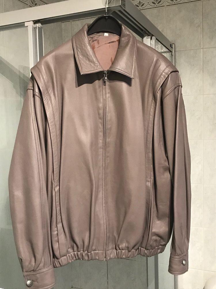 Veste en cuir couleur Gris 90 Strasbourg (67)