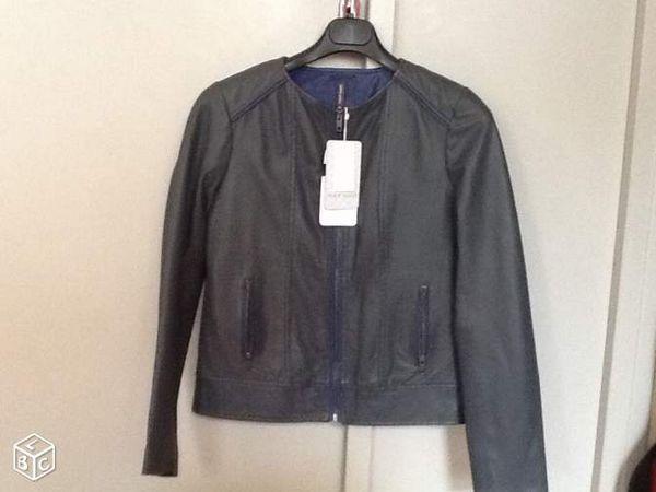 e57fc2026d83 Achetez veste cuir femme naf neuf - revente cadeau