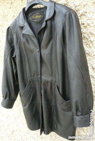 Vestes en cuir femmes occasion , annonces achat et vente de vestes ... 889730eba11
