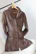Veste 3/4, en cuir, femme, Redskins Mâcon (71)