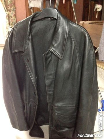 Achetez veste en cuir homme occasion 2e5ca9b10a5