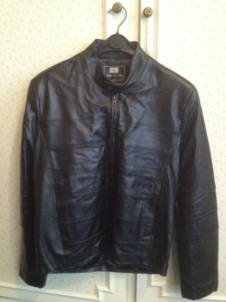 Veste cuir Homme Aqua Leather Taille 1 40 Vincennes (94)
