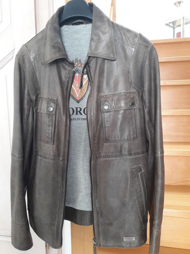 Veste en cuir de marque GIORGIO 50 Rixheim (68)