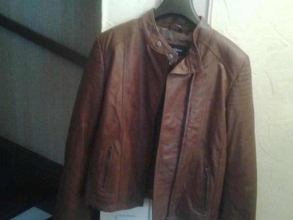 veste en cuir marron 50 Saint-Brice-sous-Forêt (95)