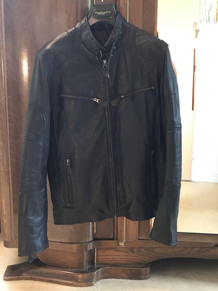 veste en cuir marron homme  700 Guyancourt (78)