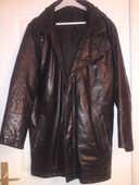 Veste 3/4 cuir noir 40 Saint-Génis-des-Fontaines (66)