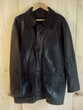 Veste cuir noir T58