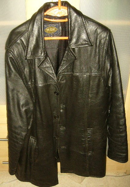 veste cuir MDK XXL noir homme exc. état 65 Versailles (78)