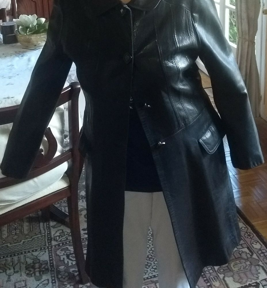 veste cuir noir 50 Paris 2 (75)