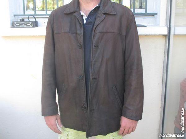 veste en cuir oakwood en vachette taille XL 50 Trélazé (49)