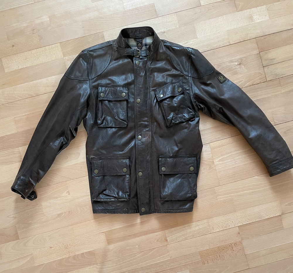 Veste en cuir originale Belstaff Panther 1966/Gold Label Vêtements