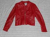 Veste Cuir Rouge 50 Six-Fours-les-Plages (83)
