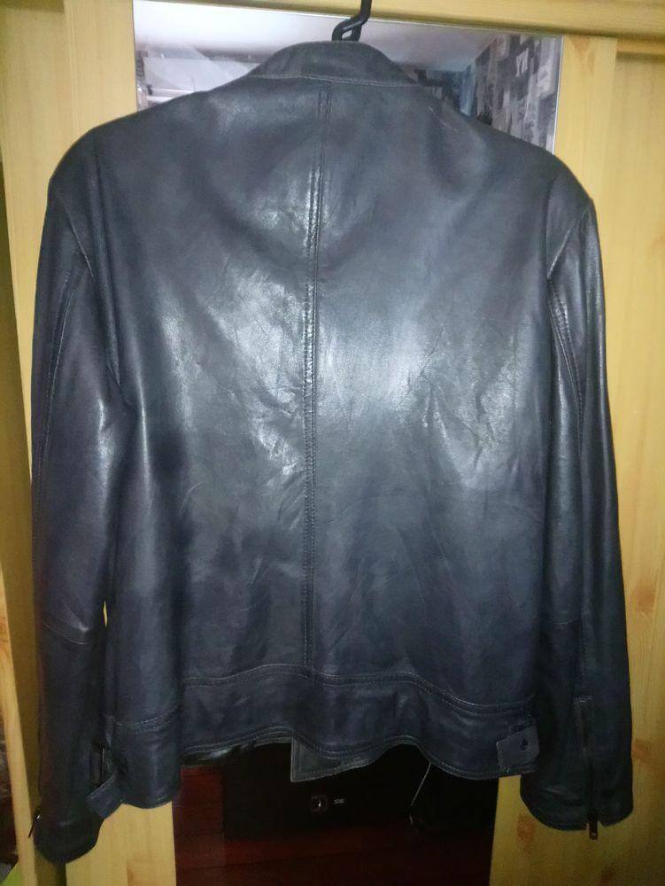 ae3f9786a veste en cuir Serge Pariente