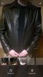 Veste cuir vachette 'serge pariente '