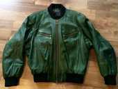 Veste en cuir vert, très grande qualité 50 Lingolsheim (67)