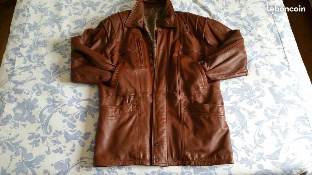 Veste en cuir 130 Blandy (77)