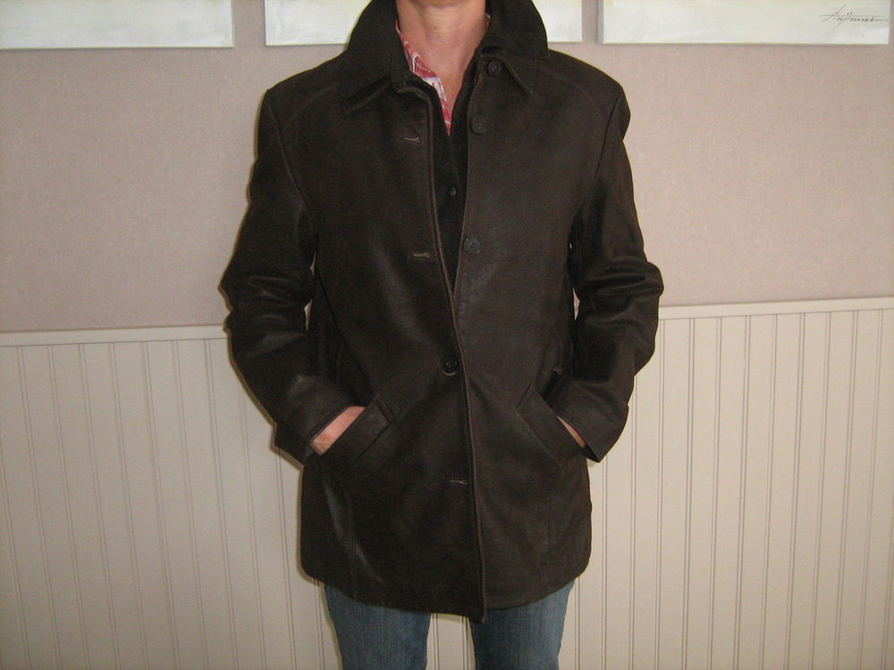 veste cuir Vêtements