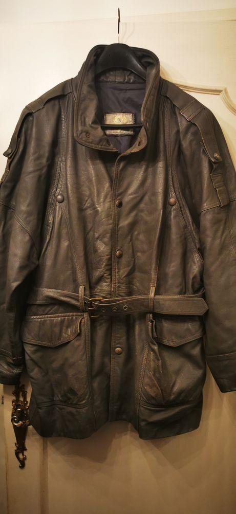 veste cuir 20 Vincennes (94)