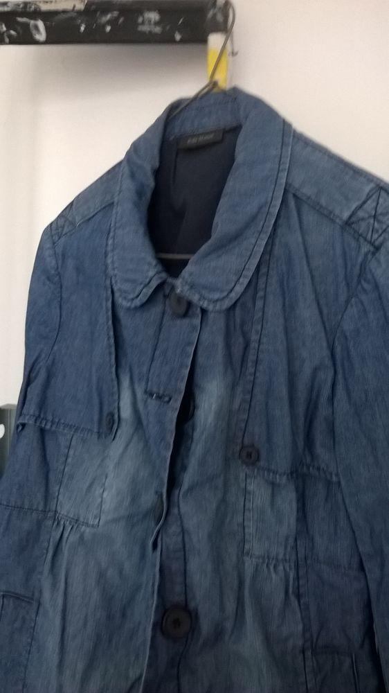 veste demi saison en jean en 38 peu mise  10 Montélimar (26)