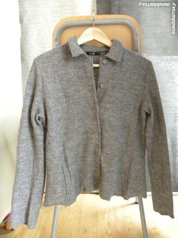 veste femme en laine grise 8 Pantin (93)