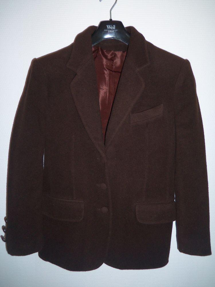 Veste femme laine et cachemire marron 20 Sevran (93)