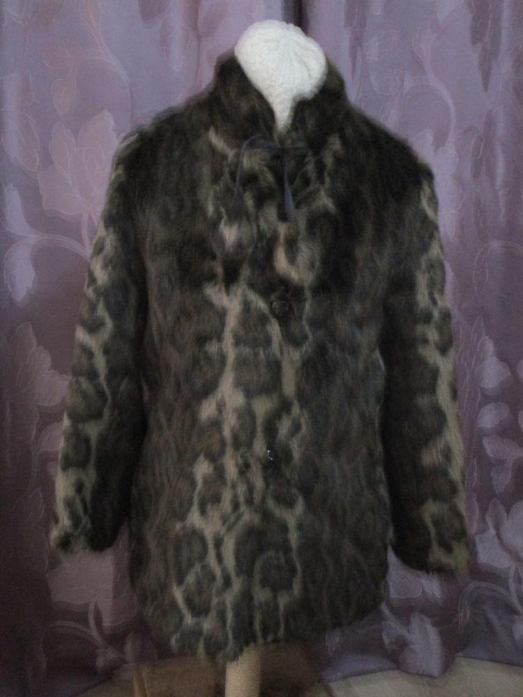 veste en imitation fourrure léopard taille 40/42 35 Chanteloup-en-Brie (77)