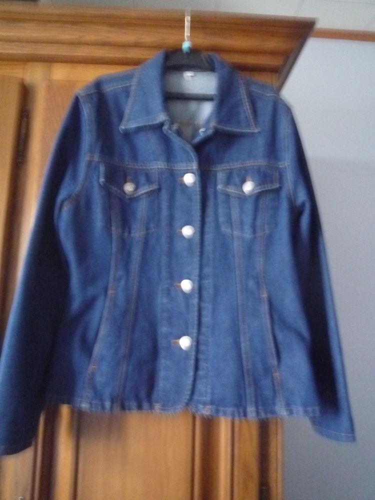 Veste en jean's Vêtements