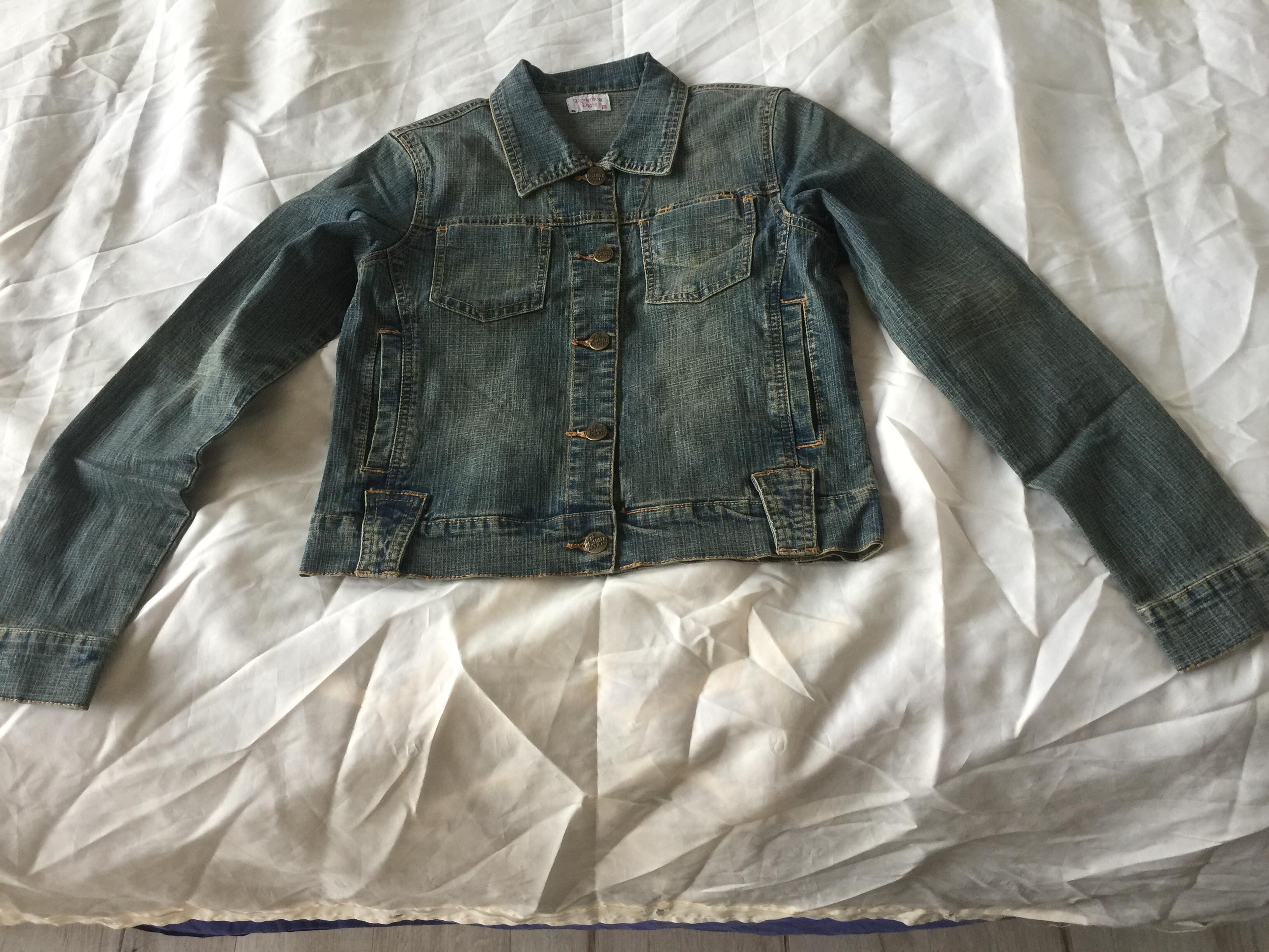 veste jeans courte 15 Feucherolles (78)