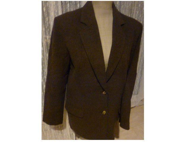 VESTE  laine marron - VESTE cuir - 40 - zoe 5 Martigues (13)