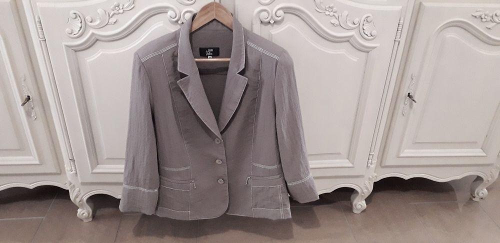 veste légère marron Jean Delfin taille 48 - TBE 60 Reims (51)