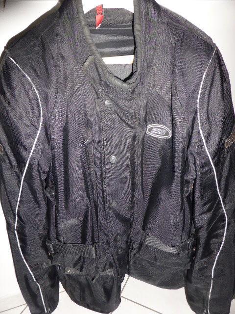 Veste longue moto IXS noire XXL 40 Rueil-Malmaison (92)