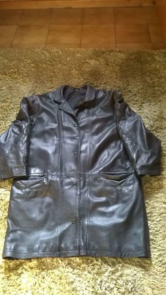 veste /manteau cuir 30 Font-Romeu-Odeillo-Via (66)