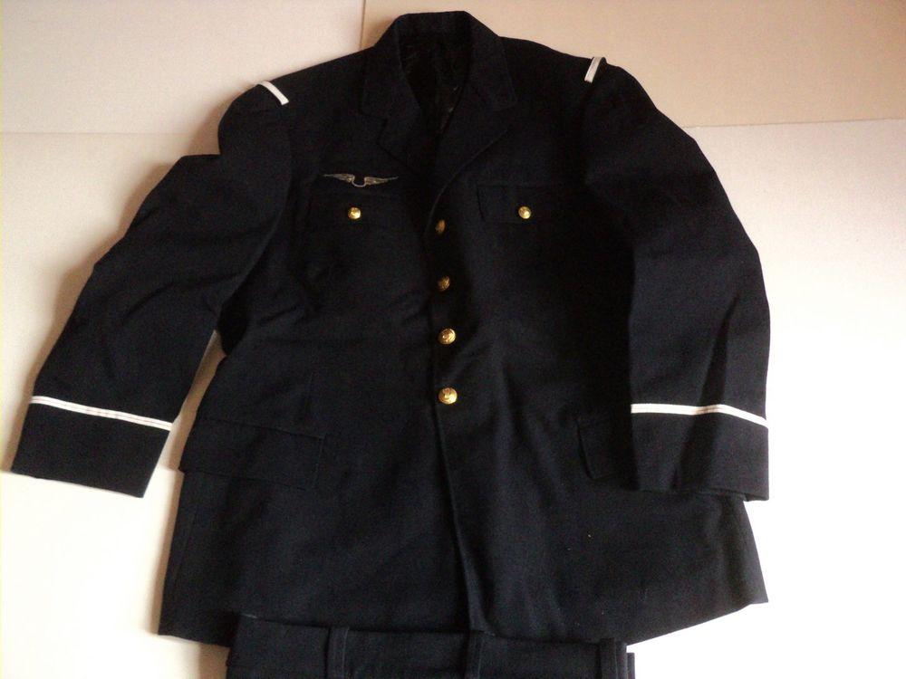 Veste Militaire Officier Adjudant Armée de l'air Aviation. 50 Loches (37)