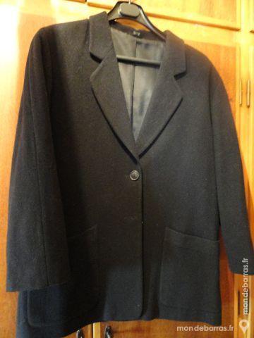 Veste noire cachemire et laine T42 30 Strasbourg (67)