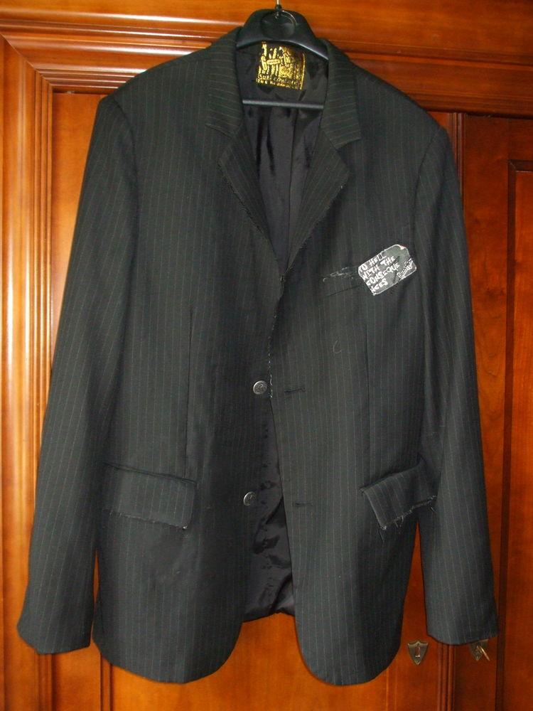 veste noire dèstructurée 15 Yvrac (33)