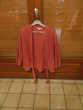 veste été orange avec ceinture Vêtements