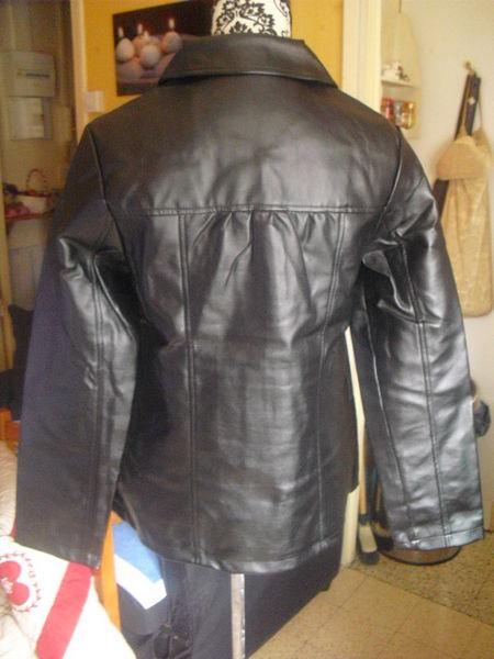 veste paletot simili cuir NEUVE noire taille 38 9 Lyon 5 (69)