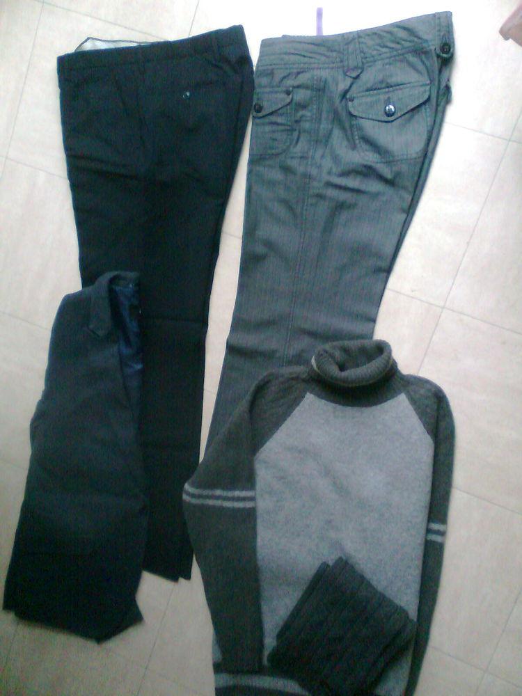 VESTE, 2 pantalons, col roulé, écharpe - 42 - zoe 7 Martigues (13)