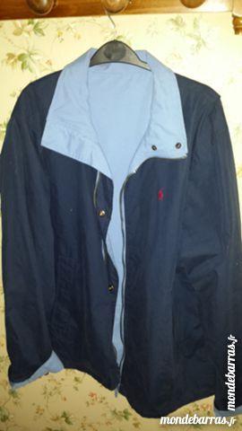 veste réversible bleue ciel et marine 25 Noyon (60)