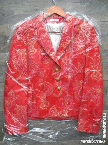 Veste Rouge Rose Or CENTRIX 100 Paris 15 (75)